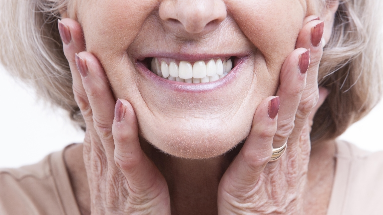Woman Smiling | Bangor ME Dentist