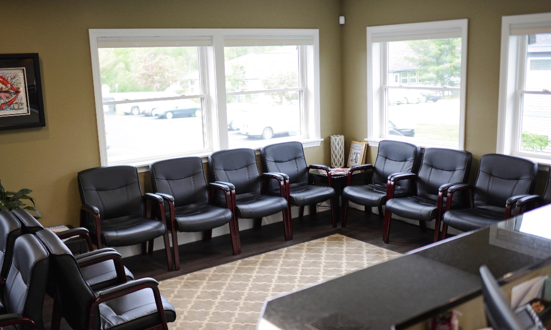 Maine Family Dental Practice | Waiting Room | Bangor ME